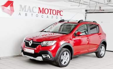 Renault Sandero Stepway Красный